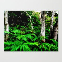 Isn't it good to be lost in the wood Canvas Print
