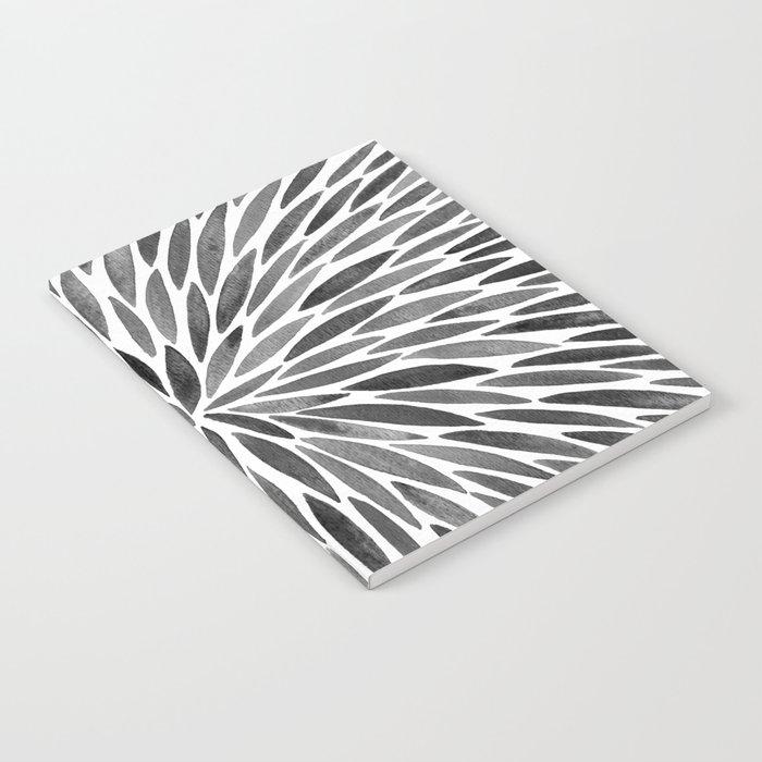 Blackened Burst Notebook