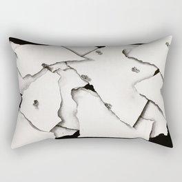 Paper on Paper Rectangular Pillow