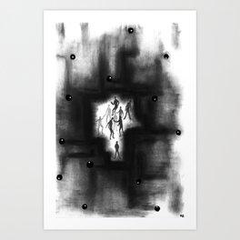 Us and Them Art Print