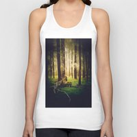 outdoor Tank Tops featuring Come to me by HappyMelvin