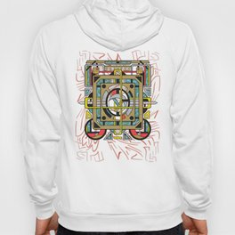 Switchplate - Surreal Geometric Abstract Expressionism Hoody