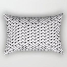 Cubic Perspective Rectangular Pillow