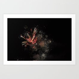 New Years Art Print