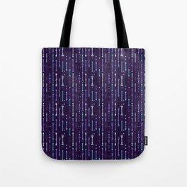Scandi-Sticks B - Vertical - Glow Tote Bag
