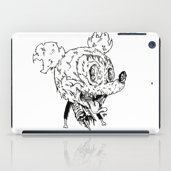 Zombie Mickey iPad Case
