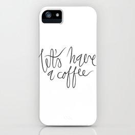 Coffee maniac. iPhone Case