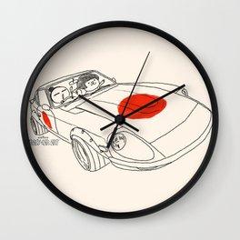 Crazy Car Art 0160 Wall Clock