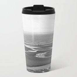 Sea sand water ocean Travel Mug