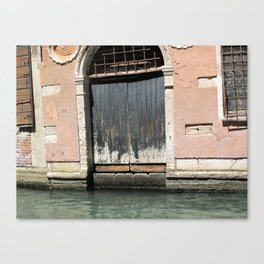 Venetian Entrance Canvas Print