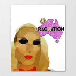 Dragnation Season 3 - WA- ????? Canvas Print