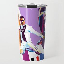 CR7 -Ronaldo Travel Mug
