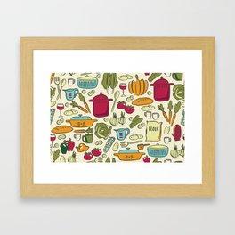 Cookin' Framed Art Print