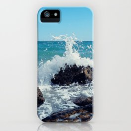 wave splash iPhone Case