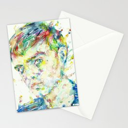 TRUMAN CAPOTE - watercolor portrait Stationery Cards