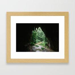 CAVES Framed Art Print