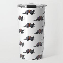 Rainbow Armadillo Travel Mug