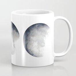 Phases of the Moon Watercolor Coffee Mug