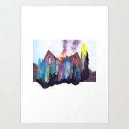 ARMED / LUMINOUS #4 Art Print