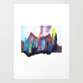 ARMED / LUMINOUS #4 Art Print