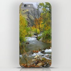 Autumn river at the mountains..... iPhone 6 Plus Slim Case