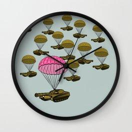 Tank Parachute Wall Clock