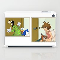 kingdom hearts iPad Cases featuring KINGDOM HEARTS: WINNIE THE POOP   by Gianluca Floris