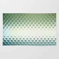 grid Area & Throw Rugs featuring Grid by Silja Rouvinen