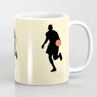basketball Mugs featuring Basketball by superdumb