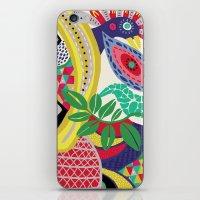 rio de janeiro iPhone & iPod Skins featuring RIO DE JANEIRO 001 by Maca Salazar