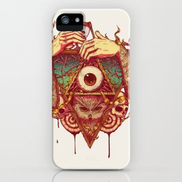 Owluminati iPhone Case