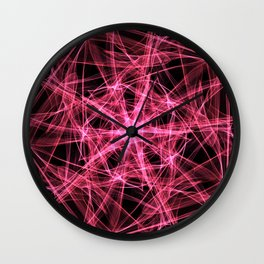 A study in pink 22 Wall Clock