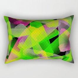 I Don't Do Normal - Abstract Print Rectangular Pillow