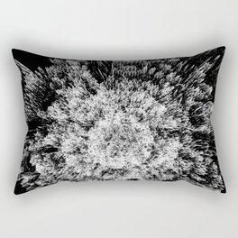 Spiky black and white Rectangular Pillow