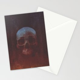 Protosequence Crimson Stationery Cards