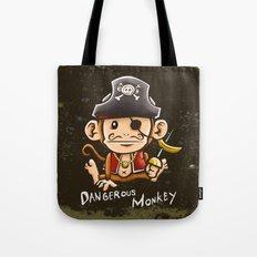 Dangerous Monkey! Tote Bag