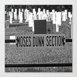 Moses Dunn Canvas Print