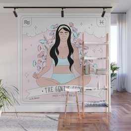 Pisces - The Gentle Soul Wall Mural