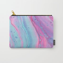PSYCEDELIC PASTEL PAINT MIXING #3  Carry-All Pouch