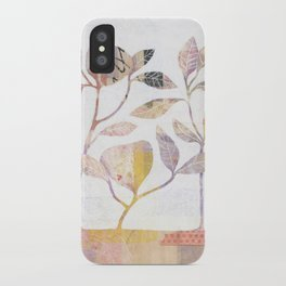 Flowers On Wood iPhone Case