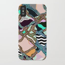 ELECTRIC VIBES iPhone Case
