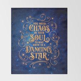 Dancing Star Throw Blanket