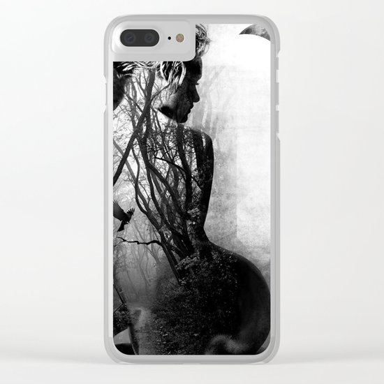 within freedom Clear iPhone Case