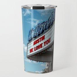 Austin We Love You Travel Mug
