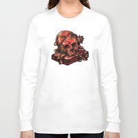 art history Long Sleeve T-shirts featuring Dark history by barmalisiRTB