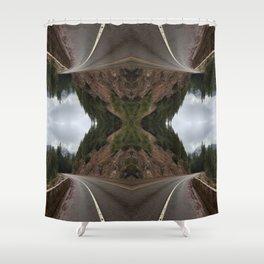Santiam Hwy Shower Curtain