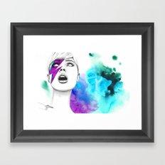 Bowia Framed Art Print
