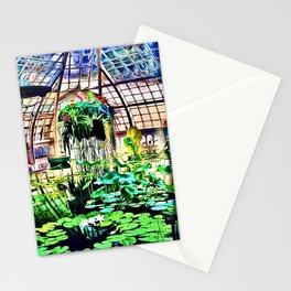 Conservatory Pond Garden Stationery Cards
