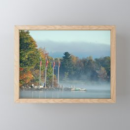 Morning Glory in the Adirondacks Framed Mini Art Print