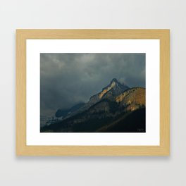 Mountain Peaks Framed Art Print